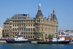 Haydarpasa railway station, Istanbul Stock Photo