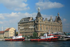 Haydarpasa - railway station. Istanbul Royalty Free Stock Photos