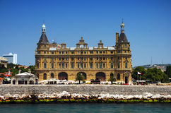 Haydarpasa railway station, Istanbul, Turkey Stock Images