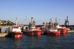 Haydarpasa seaport Royalty Free Stock Photography