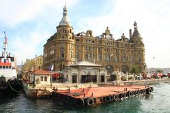 Haydarpasa Station Building Stock Photography