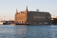 Haydarpasa Station Royalty Free Stock Photo