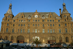 Haydarpasa terminal Royalty Free Stock Images