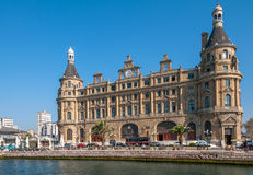 Haydarpasa terminal Royalty Free Stock Photo