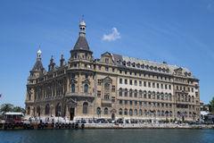 Haydarpasa Terminus Royalty Free Stock Photography
