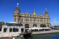 Haydarpasa Train Station Royalty Free Stock Photo