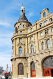Haydarpasa Train Station. Haydarpasa Railway Station Building in Istanbul, turkey Royalty Free Stock Image