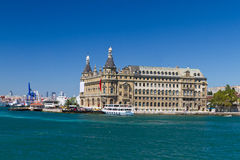 Haydarpasa Train Station Royalty Free Stock Image