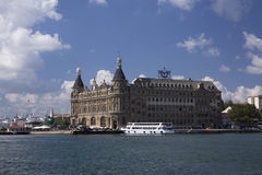Haydarpasa Train Station Building Stock Photos