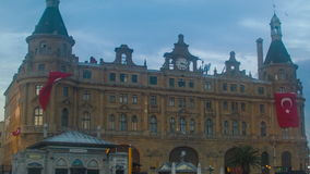 Haydarpasa Train Station Evening Time stock footage