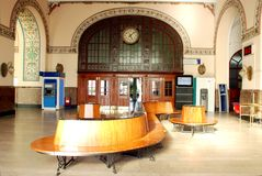 Haydarpasa train station interior Royalty Free Stock Images