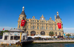 Haydarpasa Train Station Stock Photography