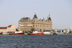 Haydarpasa Train Station in Istanbul Royalty Free Stock Photos