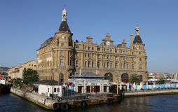 Haydarpasa Train Station in Istanbul Stock Photography