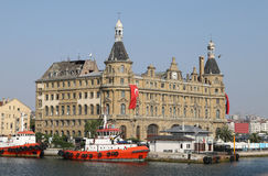Haydarpasa Train Station in Istanbul City Royalty Free Stock Images