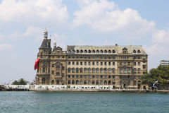 Haydarpasa Train Station in Istanbul Royalty Free Stock Image