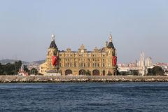 Haydarpasa Train Station in Istanbul Royalty Free Stock Images