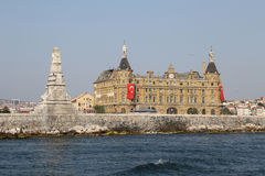 Haydarpasa Train Station in Istanbul Stock Photos