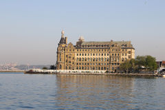 Haydarpasa Train Station in Istanbul City Stock Image
