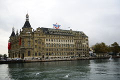 Haydarpasa train station royalty free stock images