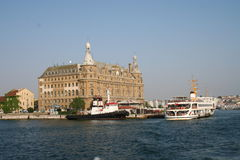 Haydarpasa Train Station Istanbul Turkey Stock Photo