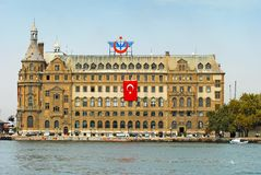 Haydarpasa Train Station Stock Photo