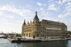 Haydarpasastation Royalty-vrije Stock Foto's