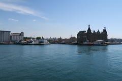 Haydarpasastation in Kadikoy, Symbooloriëntatiepunt van Istanboel, Turkije Royalty-vrije Stock Afbeelding