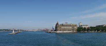 Haydarpasastation in Kadikoy, Symbooloriëntatiepunt van Istanboel, Turkije Stock Afbeeldingen