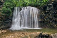 Hayden Falls i Columbus, Ohio arkivfoto