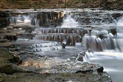 Hayden Falls a placé en Ohio central photographie stock libre de droits