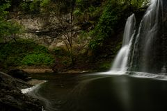 Hayden Falls - Wide Waterfall in Canyon - Dublin, Ohio