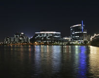 A Hayden Ferry Lakeside Night View, Tempe Royalty Free Stock Photos