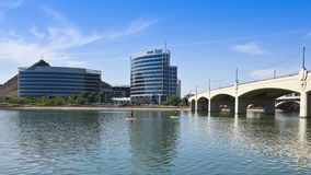 A Hayden Ferry Lakeside SUP Race, Tempe Stock Photo