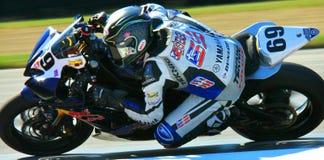 Hayden Gillim motorcycle racing Royalty Free Stock Photography
