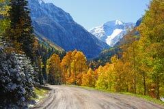 Hayden mountain peak Stock Photography
