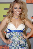Hayden Panettiere appearing. Hayden Panettiere on the red carpet Royalty Free Stock Image