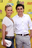 Hayden Panettiere, Jansen Panettiere. Hayden Panettiere and brother Jansen Panettiere  at Variety's 5th Annual Power Of Youth Event, Paramount Studios, Hollywood Stock Photography
