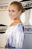 Hayden Panettiere on the red carpet. Stock Images