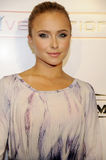 Hayden Panettiere on the red carpet. Hayden Panettiere attending the Grand Re-Opening of the Hollywood Palladium headlined by Jay-Z in Hollywood Royalty Free Stock Image