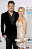 Hayden Panettiere and Scotty McKnight Stock Images