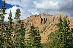 Hayden Peak in the Uinta mountains. Stock Photos