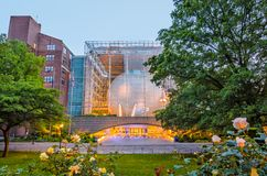 Hayden Planetarium New York Stockfotografie