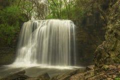 Hayden Run Falls. Near Dublin Ohio. Beautiful waterfall in  small park Royalty Free Stock Photos