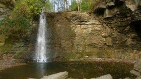 Hayden Run Waterfall Loop stock videobeelden