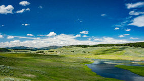 Hayden Valley. In Yellowstone National Park in Wyoming Stock Photo
