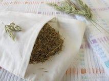 Hayflower bag Royalty Free Stock Photos