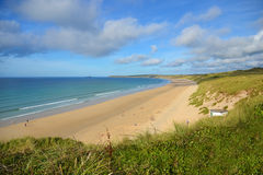 Hayle beach cornwall Royalty Free Stock Photography