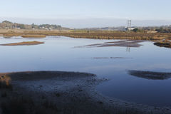Hayle estuary RSPB reserve Stock Photography