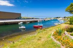 Hayle hamn Cornwall Fotografering för Bildbyråer
